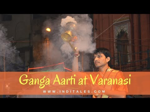 Grand Ganga Aarti  Spectacle at Dashashwamedh Ghat in Varanasi, India