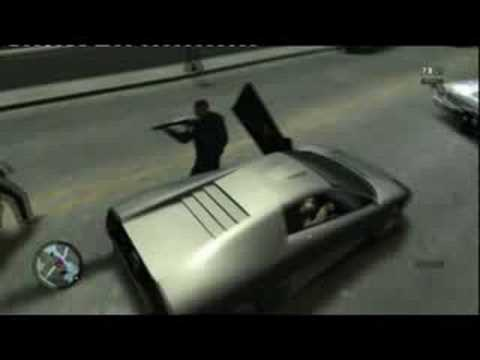 GTA IV - How Not To Steal A Car #1