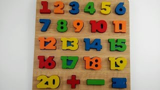 Aprender os Números | Como Ensinar os Números para as Crianças | Aprendendo a Contar Até 20
