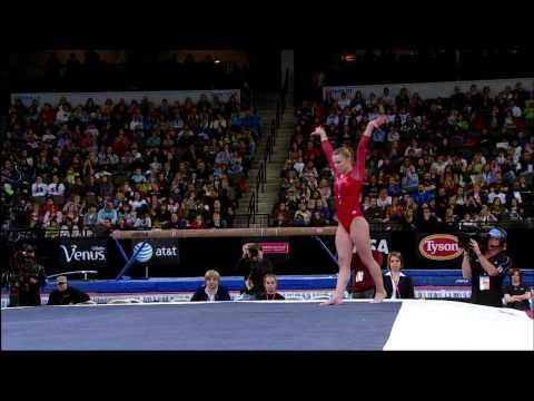 Bridget Sloan - Floor Exercise - 2009 Tyson American Cup