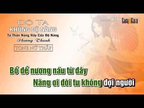 Karaoke _ Tự Thân nàng hãy độ lấy nàng _Phương Thanh