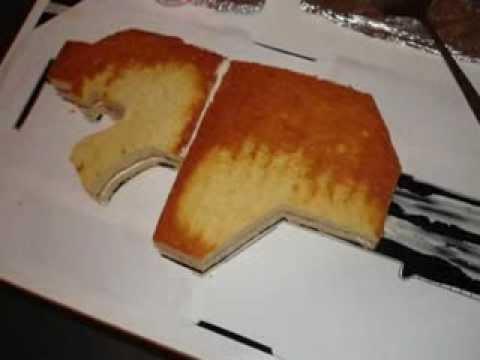 Rifle Shaped Cake Pan