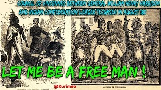 Let Me Be A free Man - Tecumseh his message and prophecy - Remember the Ancestors!!