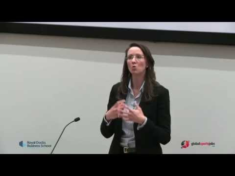 Tackling the Issues: UEL Sport Seminar Series - Seminar #3 - Sally Bolton, General Manager RLWC 2013