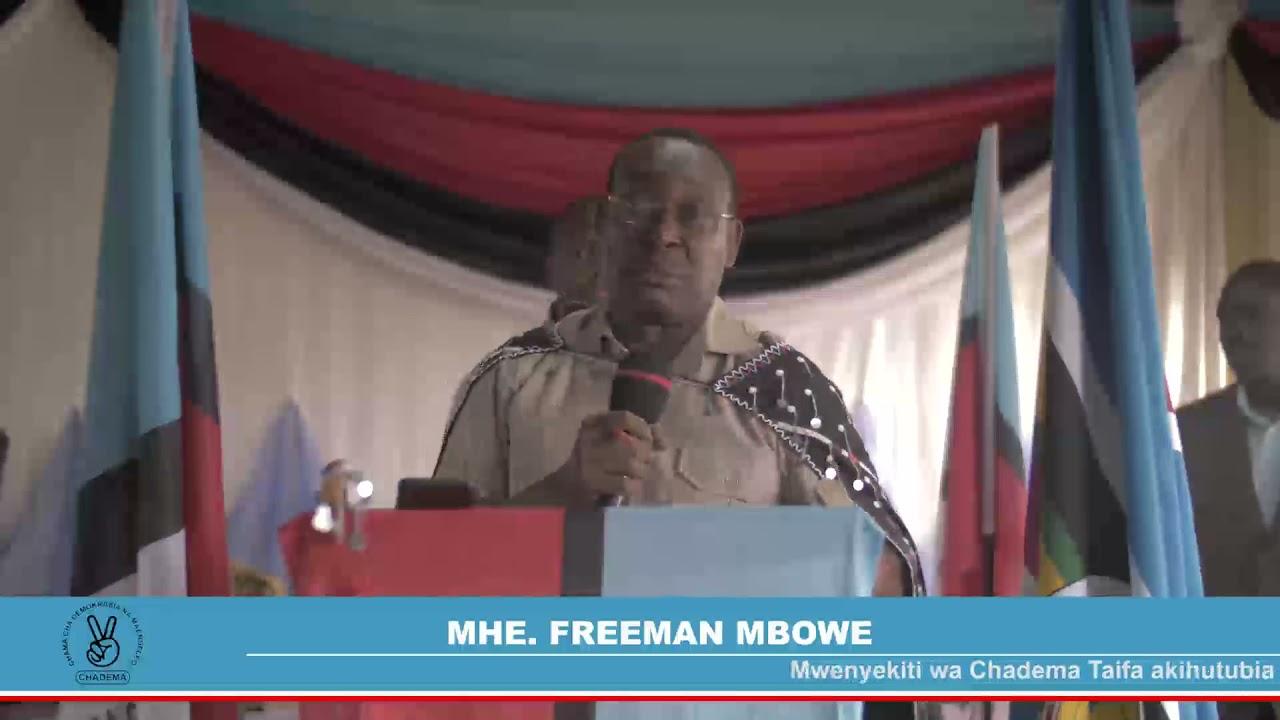 Download Chadema imekuja kivingine, waandaa mkakati mzito, waacha kutunishiana misuli na Serikali.