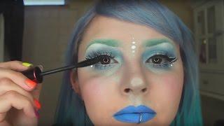 Periwinkle Space Princess Makeup Tutorial