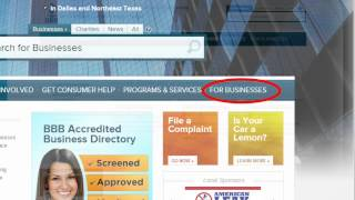 How to apply for BBB (Better Business Bureau) Accreditation