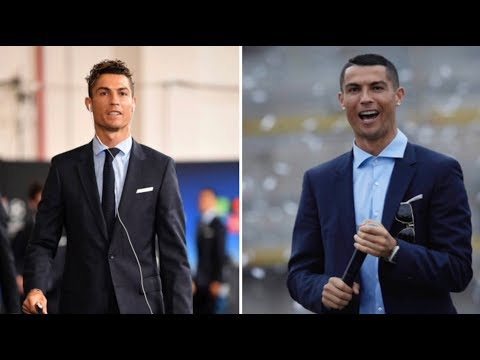Cristiano Ronaldo hairstyle before and after 5 Cup UEFA  in Kiev vs Liverpool