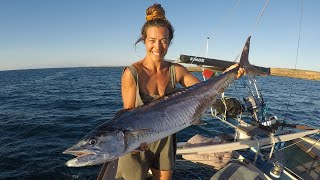 Girls Can Catch Big Fish! SAILING TANGAROA