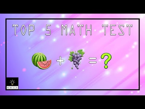 Top 5 Math Quizzes for GENIUSES!!!