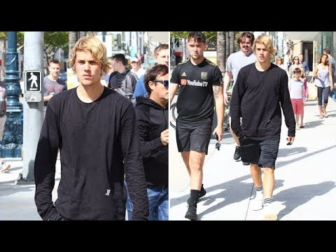 Sweat-Soaked Justin Bieber Leaves SoulCycle With His Workout Buddies