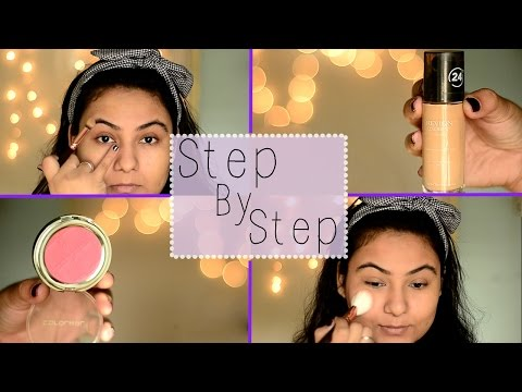 Steps of applying makeup/ How to apply makeup