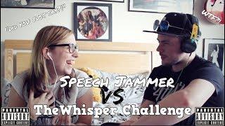 Speech Jammer vs The Whisper Challenge