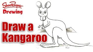 how to draw a Kangaroo.