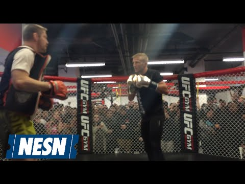Dominick Cruz, TJ Dillashaw Work Out Ahead Of UFC Fight Night Boston