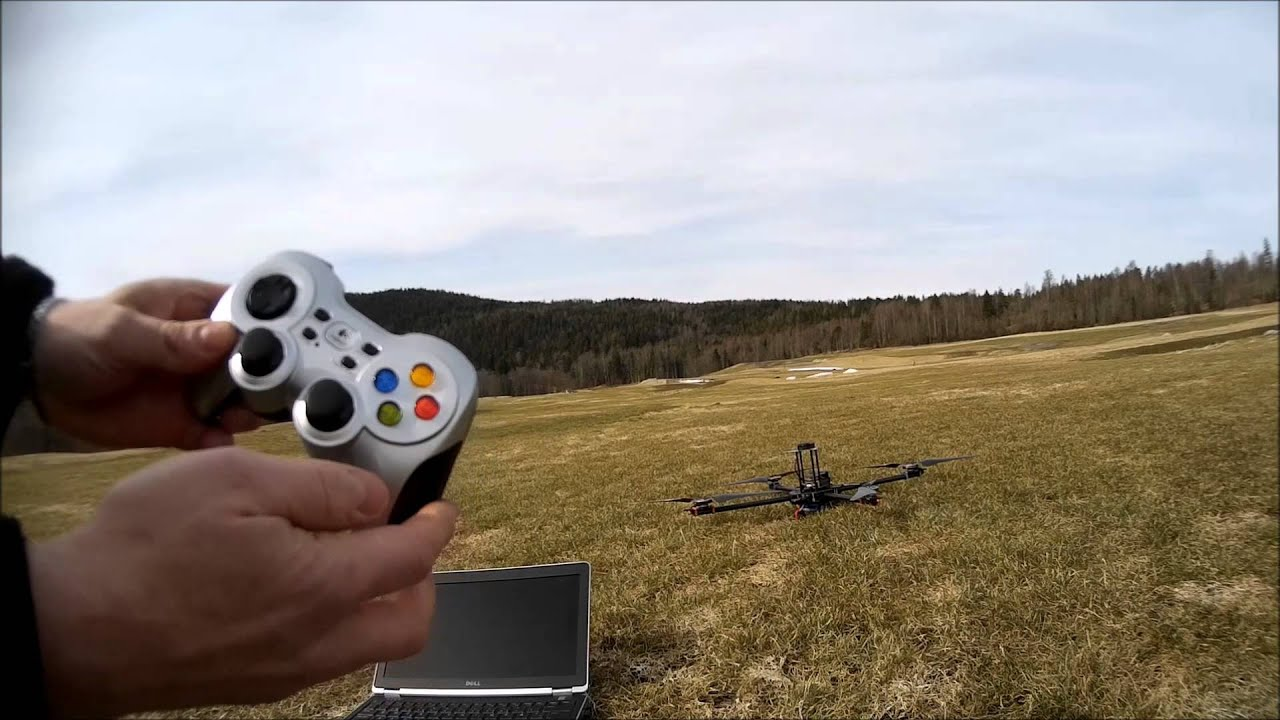 Quadcopter controlled with a 4G mobile connection, Emlid Navio+, Raspberry  Pi 2 B