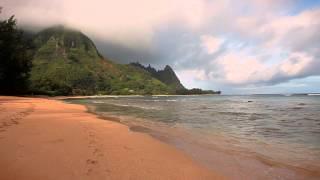 Early Morning at Haęna Beach, Kauai Island, Hawaii April 2014