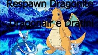 PxG - Respawn Dragonite,Dragonair e Dratini