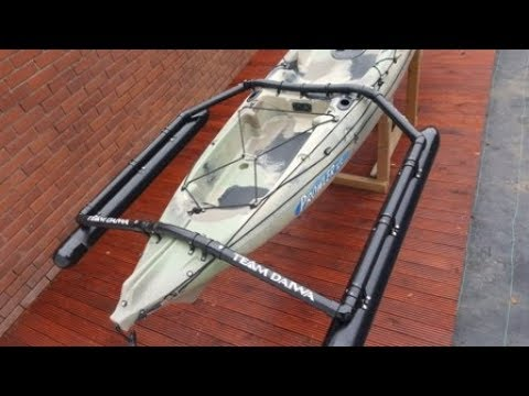 Kayak Outriggers, Very Strong, Cheap And They Work!
