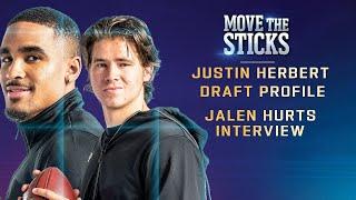 Justin Herbert Draft Profile & Interview with Jalen Hurts