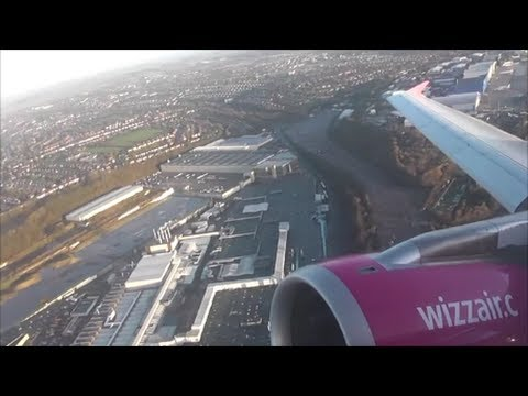 Wizzair Airbus A320-232 | London Luton to Budapest *Full Flight*