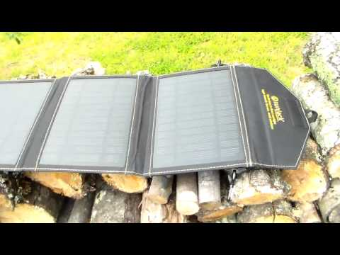 A must have for all preppers... small portable  solar panel.