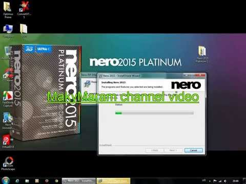 como instalar nero burning rom 2015 crack