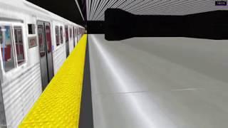 openBVE Toronto Line 4 Westbound T1 *arcade mode*