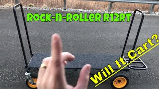 Review and tutorial of the Rock-n-Roller R12t All Terrain Cart