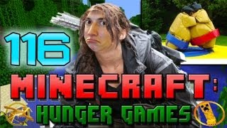 Minecraft: Hunger Games w/Mitch! Game 116 - SUMOTORI!