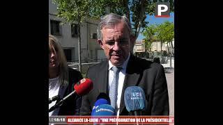 """Alliance LR-LREM en Paca : """"Une préfiguration de la Présidentielle"""" pour Thierry Mariani (RN)"""
