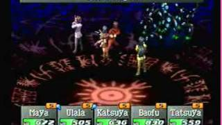 PS1 Persona 2 Eternal Punishment last boss battle