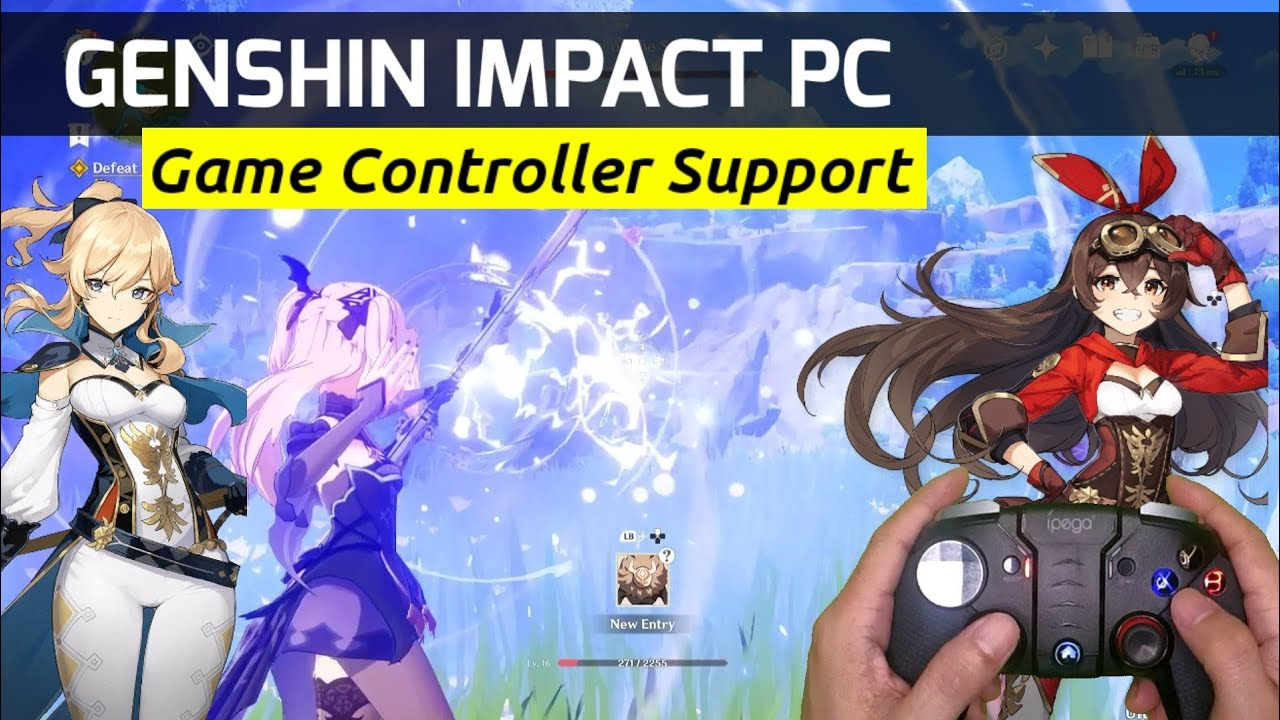 How To Use Game Controller In Genshin Impact Pc Game Controllers That Works On Genshin Impact Pc Youtube