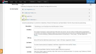 dnn subscribe to mailchimp lists using action form 3 3