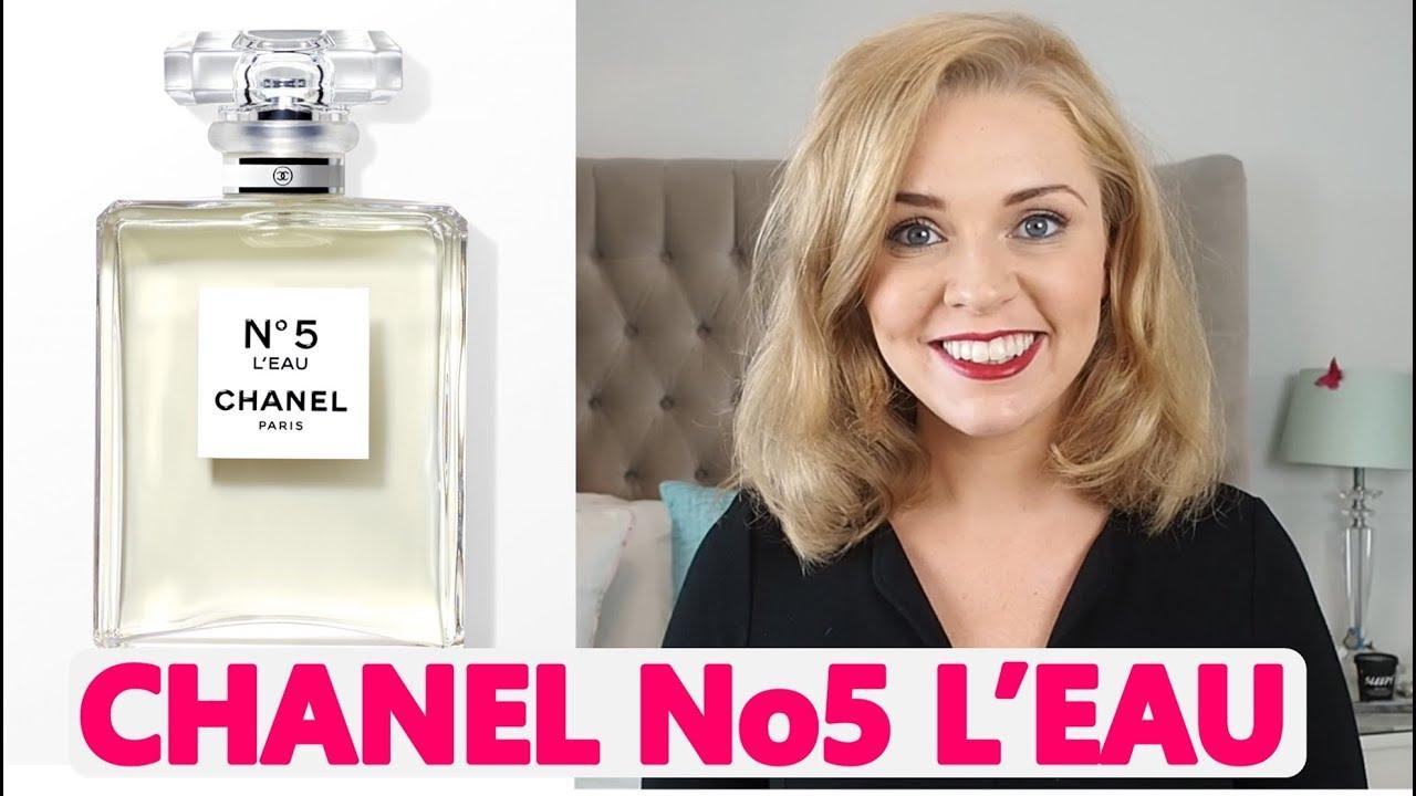 Chanel No5 Leau Perfume Review Soki London Youtube