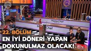 Gambar cover Dokunulmazlık mücadelesi | 22. Bölüm | MasterChef Türkiye