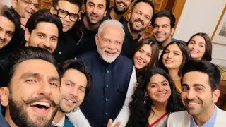 Ranveer, Alia, Karan Johar and other celebs meet PM Modi in Delhi