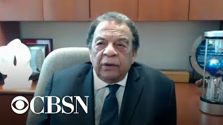 Civil rights leader Andrew Young says George Floyd's death touched the heart of the planet