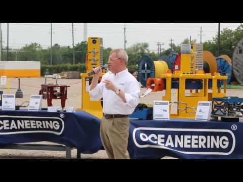 Oceaneering Flowline Connector Live Demo - 2016