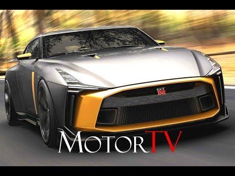 Nissan GT-R50 by Italdesign вывели на трек