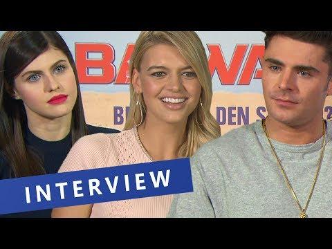 Wie werde ich ein Baywatch-Star? | BAYWATCH-Interview mit Zac Efron und Co.