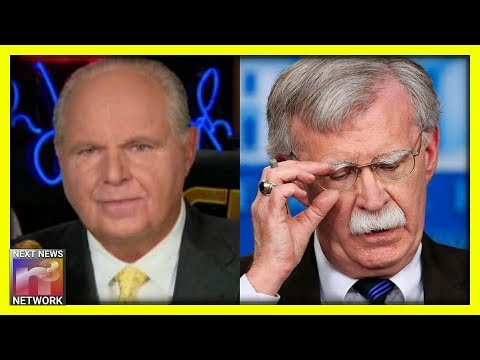 Rush Limbaugh SLAMS Camp David Invite of 'Taliban Monsters' After Bolton Ouster