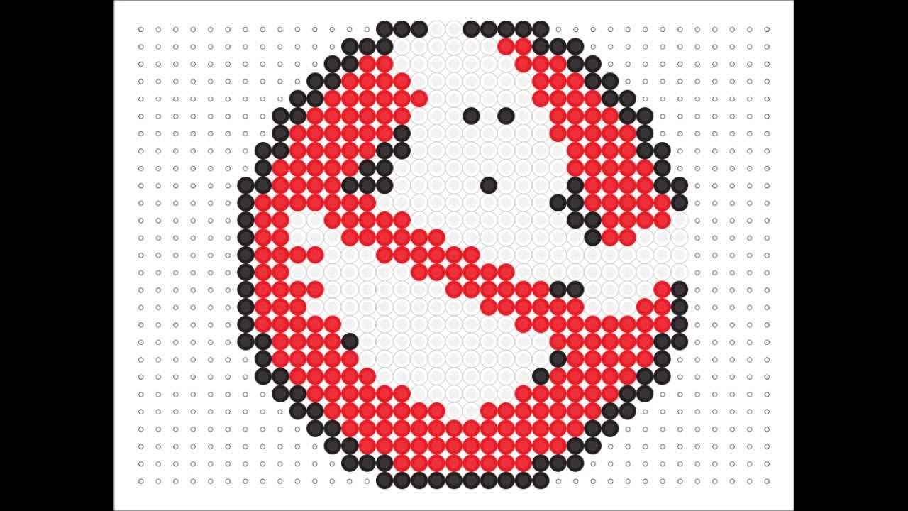 Hama Bead Ghost Busters Logo Logo Series 12