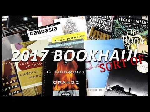 2017 Book Haul   30+ Books