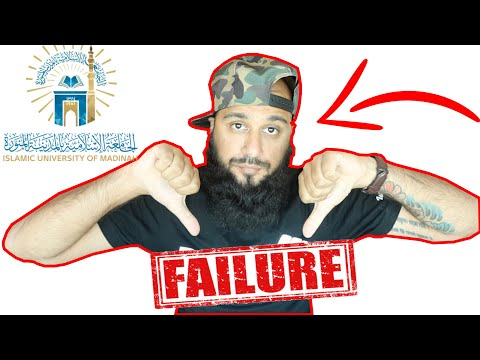 WHY I DROPPED OUT OF MADINAH UNIVERSITY!