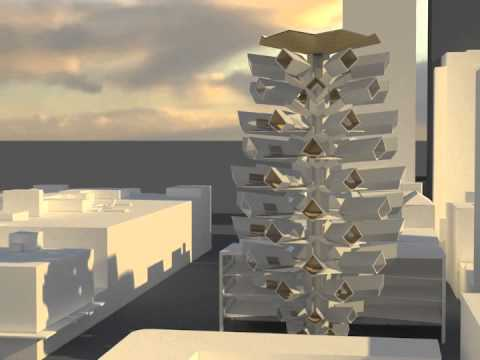 Architectural Fiction Proposal For DAB810, QUT