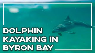 Ocean Kayaking With Dolphins In Byron Bay, Australia