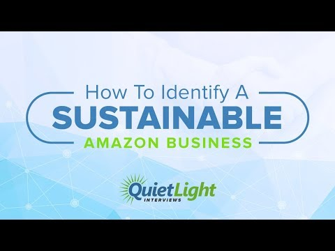 What Makes an Amazon Business Sustainable with James Thomson