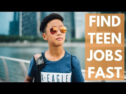 How you can Strengthen Your Teen Get a job