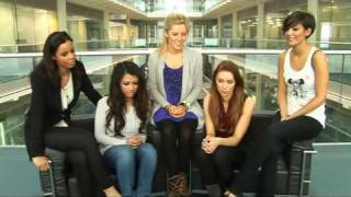 The Saturdays talk Depeche Mode, raunchy...